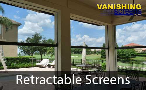 retractable door and window screens