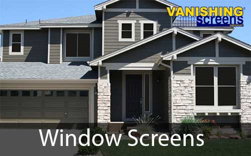 window screen repair and replacement